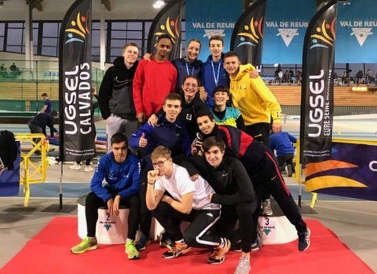 Championnats de France Ugsel cadets/juniors en salle.